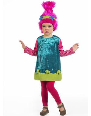 Costume da Troll rosa per bebè