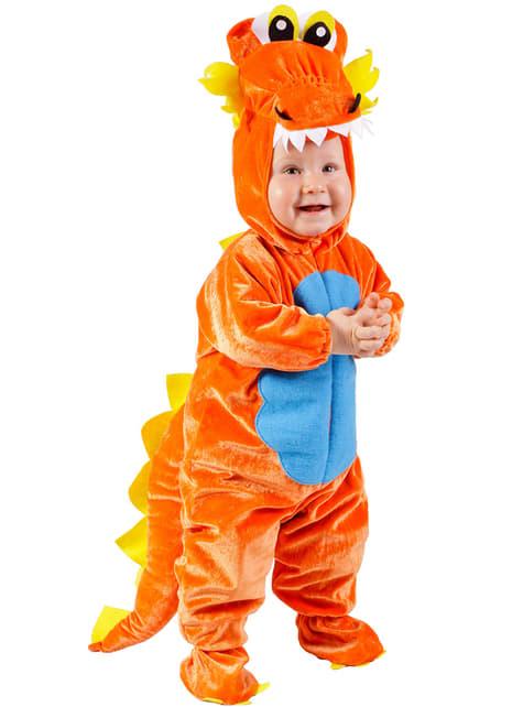Strój smok dla niemowlaka