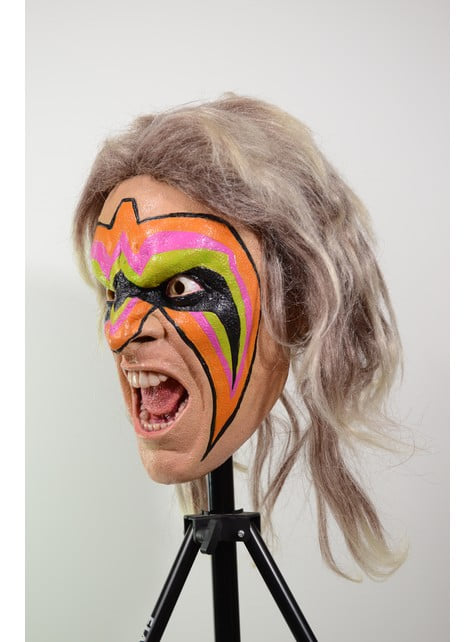 Adult's Latex The Ultimate Warrior Mask