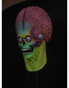 Máscara de soldado marciano Mars Attacks de látex para adulto