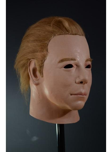 Máscara de Kirk 1975 Star Trek de látex para adulto - para tu disfraz