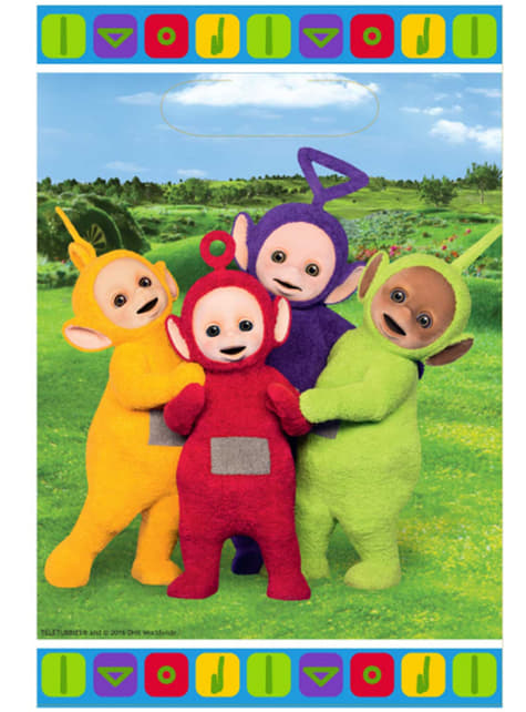 8 bolsas Teletubbies
