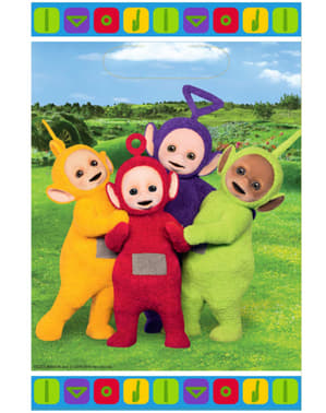 8 bolsas de chucherías Teletubbies