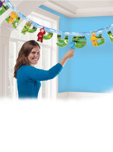Guirlande Happy Birthday Teletubbies