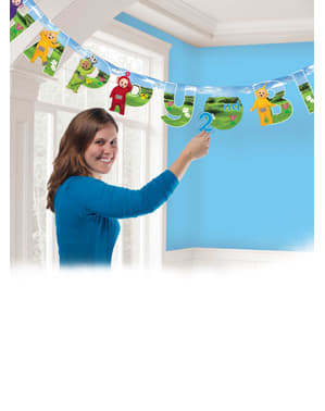Happy Birthday Teletubbies slinger