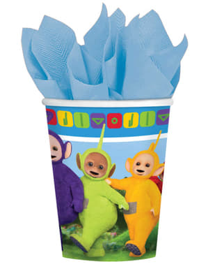 8 Teletubbies Cups