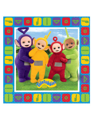 Sett med 16 Teletubbies Servietter