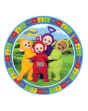 8 platos Teletubbies (23 cm)