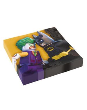 Набір з 16 Бетмен Lego фільм серветки