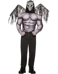 Disfraz de gárgola para hombre