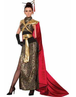 Disfraz de emperatriz dragón para mujer