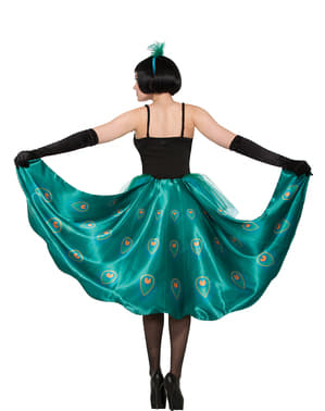 Beeldschone pauw Kostuum voor vrouw