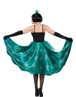 Schönes Pfauen Kostüm für Damen