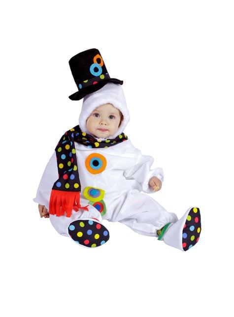 Snögubbe Maskeraddräkt Baby