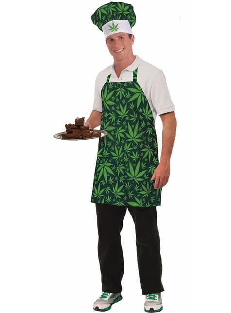 Adult's Marijuana Chef Costume