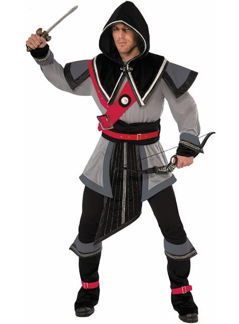 Disfraz de guerrero sigiloso para hombre