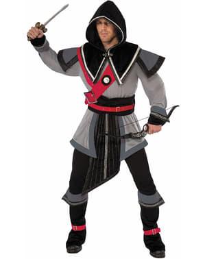 Verschwiegener Krieger Kostüm für Herren