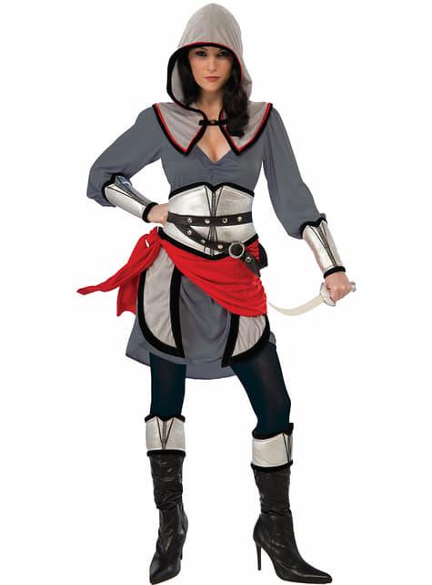 Disfraz de guerrera sigilosa para mujer