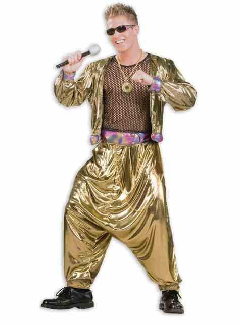 Man's 80s Star Costume