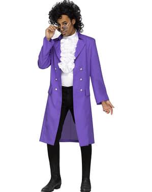 תלבושות גשם סגול הנסיך גודל פלוס של האדם