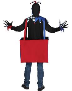 Disfraz de payaso musical terrorífico para adulto