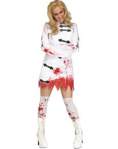 Disfraz de loca chiflada para mujer