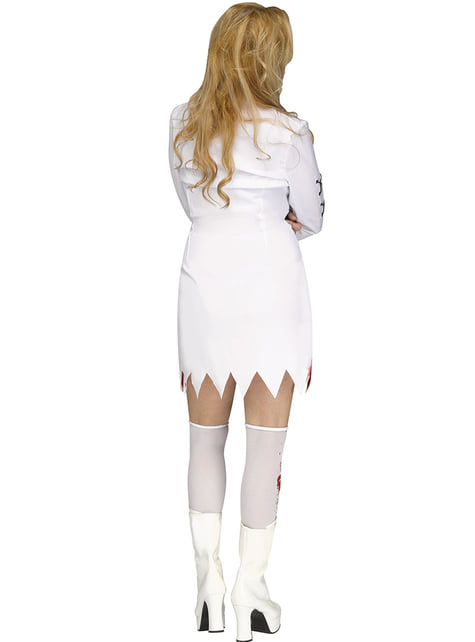 Woman's Crazy Nutter Costume