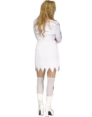 Geflipte gek Kostuum voor vrouw