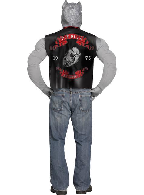 Disfraz de pitbull motorista para hombre - hombre