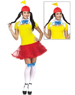 Woman's Tweedle Dum & Dee Costume