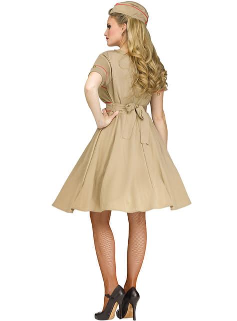 Disfraz de chica de la armada años 50 para mujer - mujer