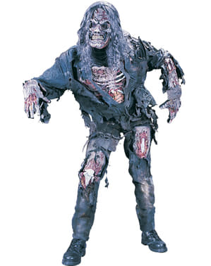 Maskeraddräkt zombie hungrig 3D vuxen