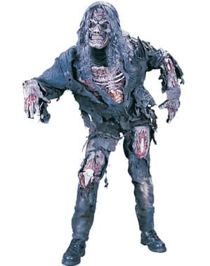 Sulten 3D Zombie Kostyme for Menn