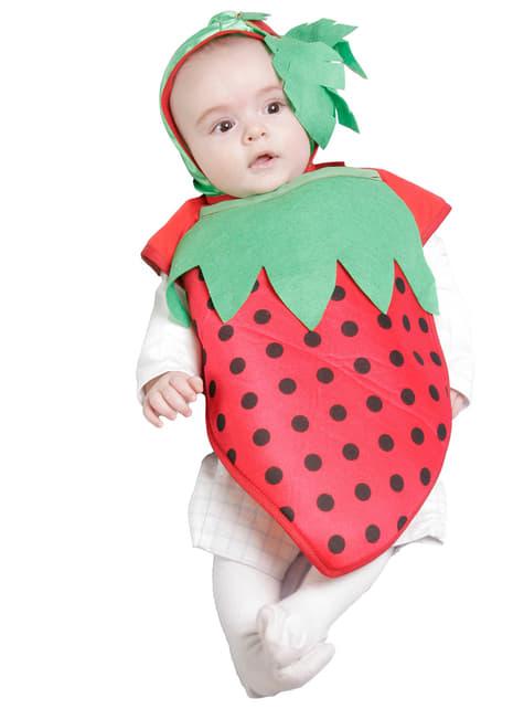 Kostium truskawka dla niemowlaka
