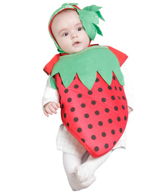 Little Strawberry Baby Costume