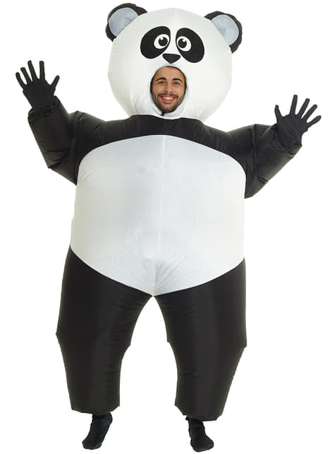 Inflatable Panda Adult Costume
