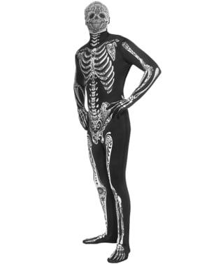 Day of the Dead Morphsuit Kostyme for Voksne