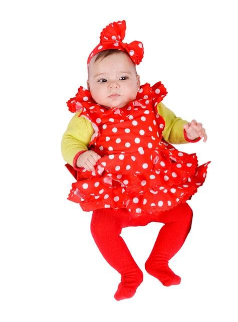 Disfraz de bebé sevillana