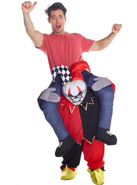 Piggyback Jester Costume