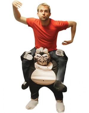 Costum ride on de gorilă