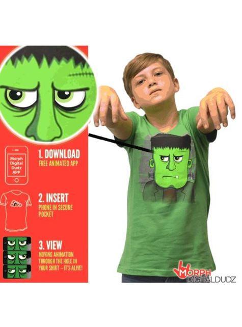 Shirt boze Frankenstein voor kinderen