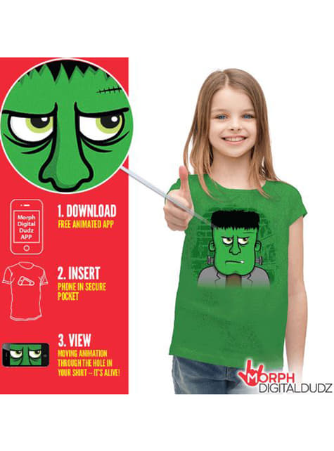 Kids Angry Frankenstein T-Shirt