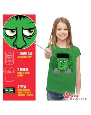 Camiseta de Frankenstein enfadado infantil