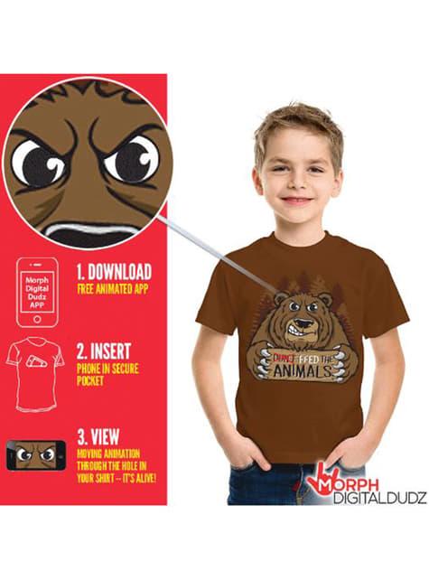 Camiseta de oso hambriento infantil - infantil