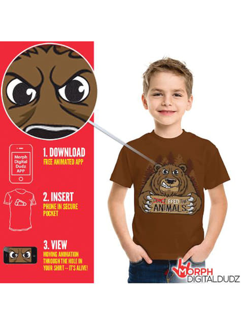 Children's Hungry Bear T-Shirt