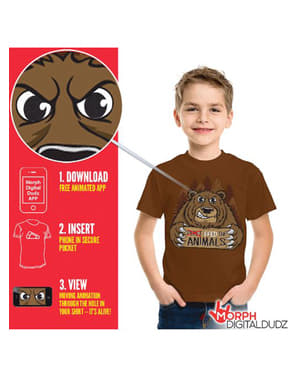 Tricou urs înfometat pentru copii