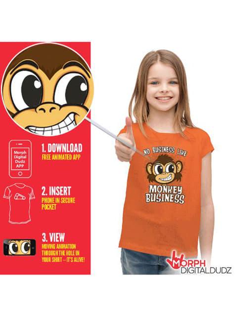 Kids Monkey Business T-Shirt