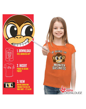 Camiseta de monkey business infantil