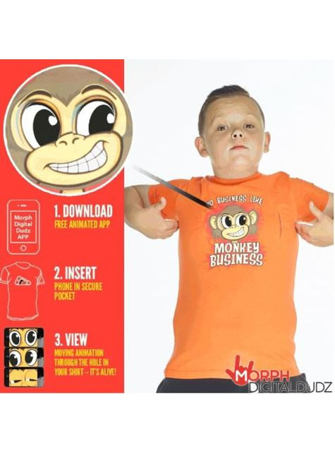 Camiseta de monkey business infantil - infantil