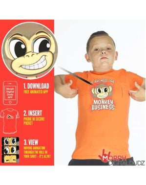 Camisola de monkey business infantil